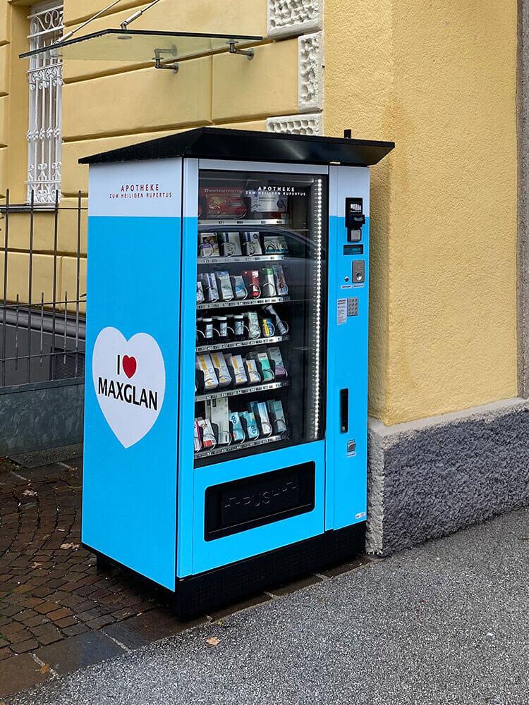 Easy Vending S8 Warenautomat mit Apothekenbestückung